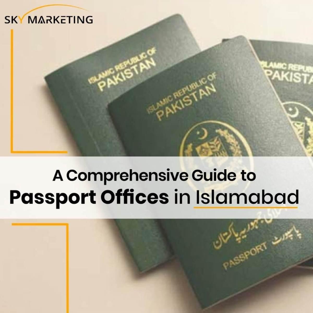 Islamabad Passport Offices